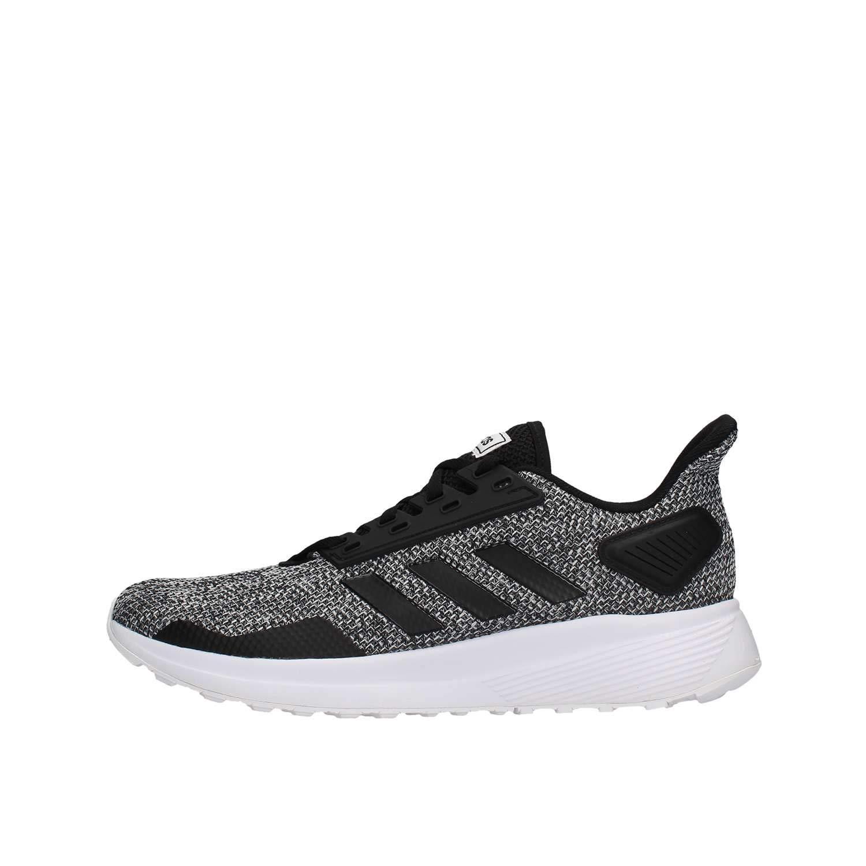 Adidas Duramo 9, Zapatillas de Running para Hombre 42 EU|Negro (Core Black/Core Black/Footwear White 0)