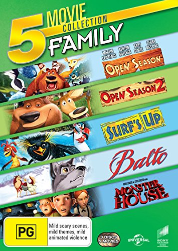Balto / Monster House / Open Season 1 & 2 / Surf's Up | 3 Discs | NON-USA Format | PAL | Region 4 Import - Australia (Monster House Tv Series)