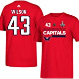 wholesale dealer ac78a 24b19 Amazon.com : adidas Tom Wilson NHL Washington Capitals Men's ...
