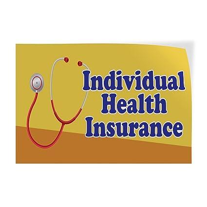 Individual Health Insurance >> Amazon Com Decal Sticker Individual Health Insurance