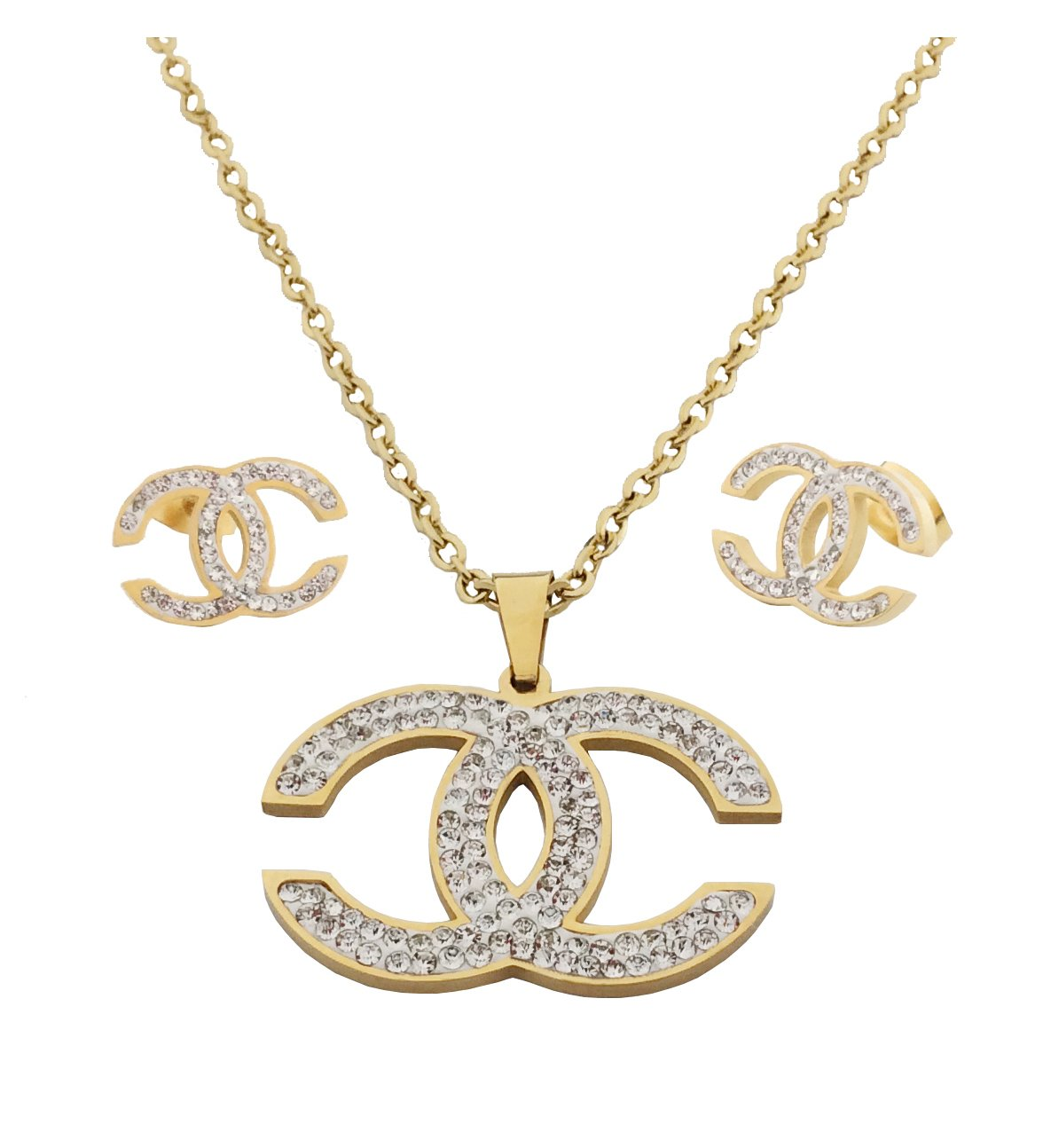 PAPAGALO Stainless Steel Jewelry Set for Women (PP207)