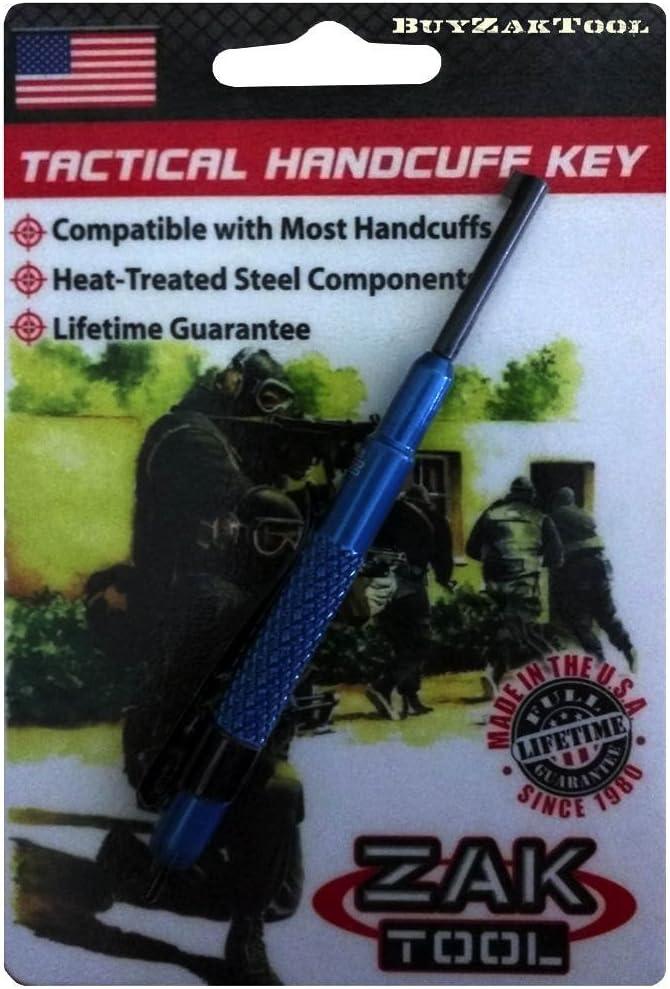 Blue Zak Tool ZT-13-BLU Aluminum Pocket Key