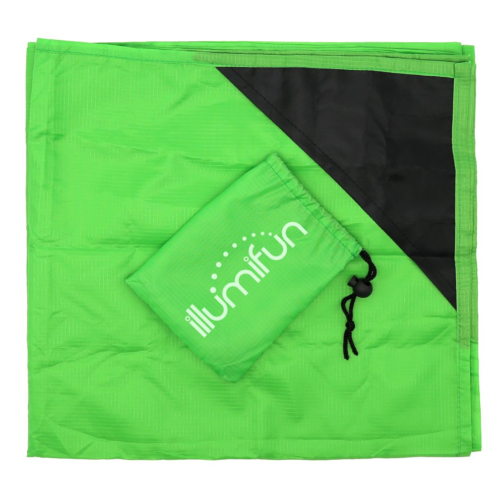 Illumifun Pocket Blanket Compact Picnic Beach Outdoor (60\