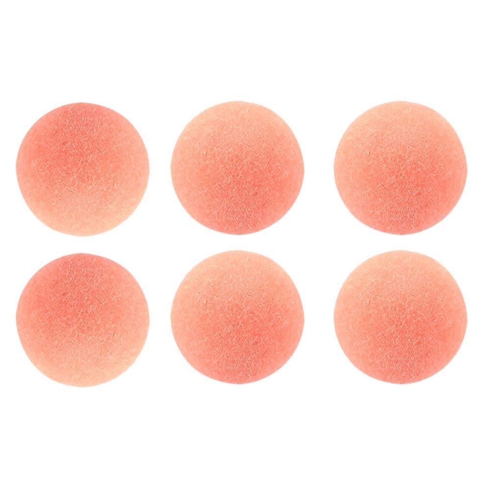 6 Official Classic Pink Tornado Foosballs