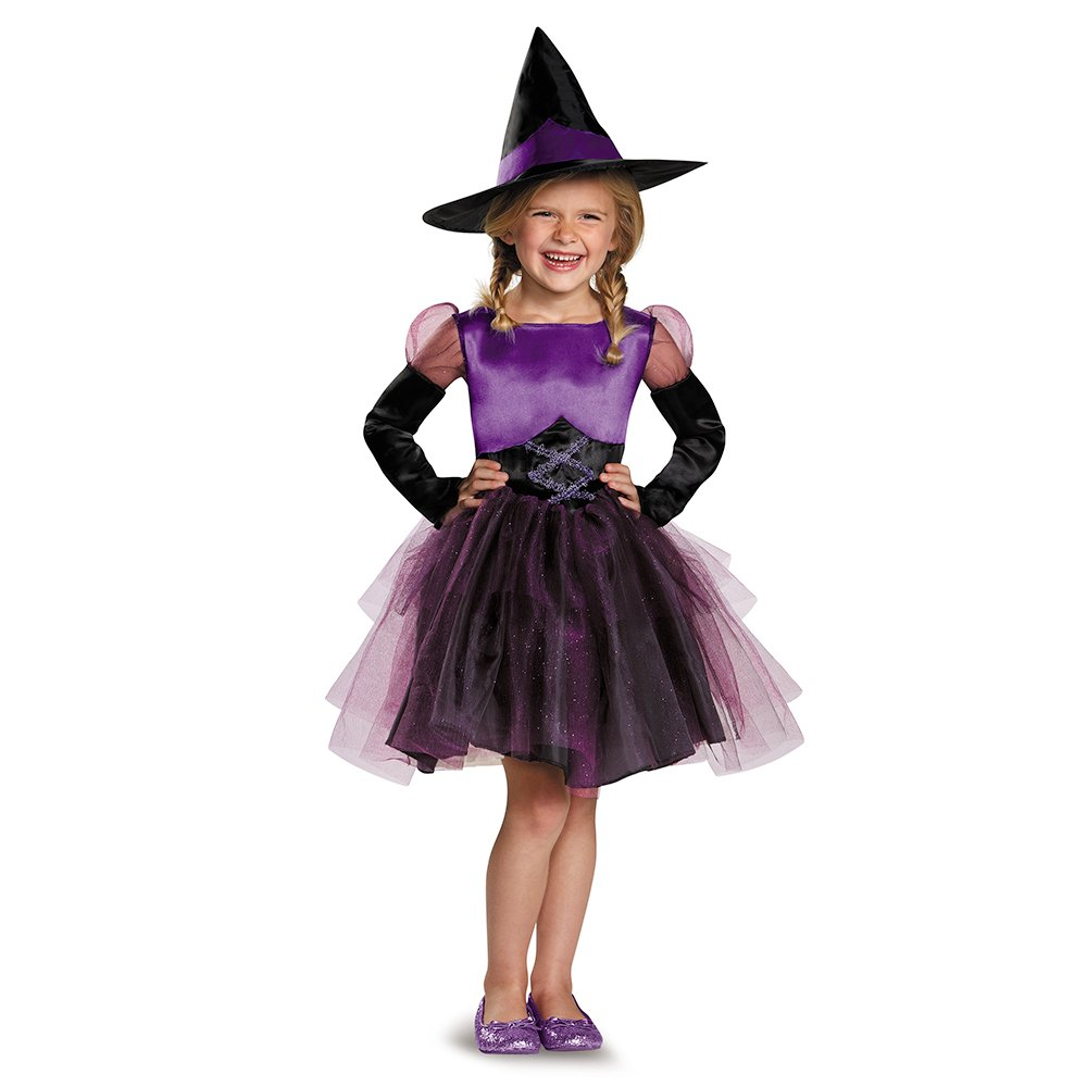 Disguise 83982S Witch Toddler Tutu Costume, Small (2T)