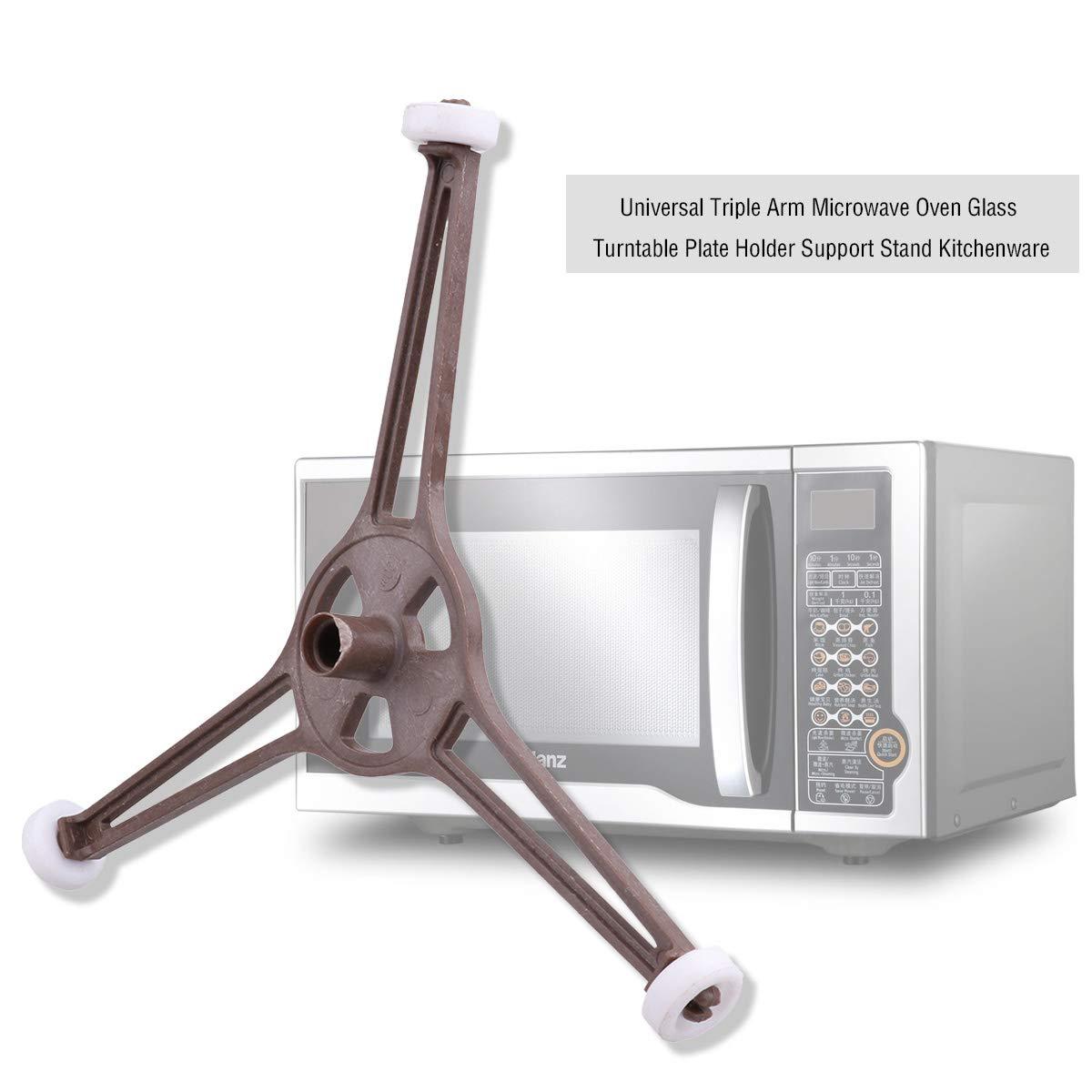 CHICTRY - Soporte universal para microondas (triple brazo): Amazon ...