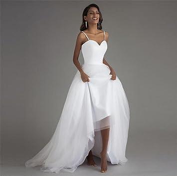 b5de18151eaf9 LUCKY-U Robe De Mariée De Femme