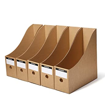 ExcLent 5Pcs Caja De Almacenamiento De Archivos Carpeta Marco De ...