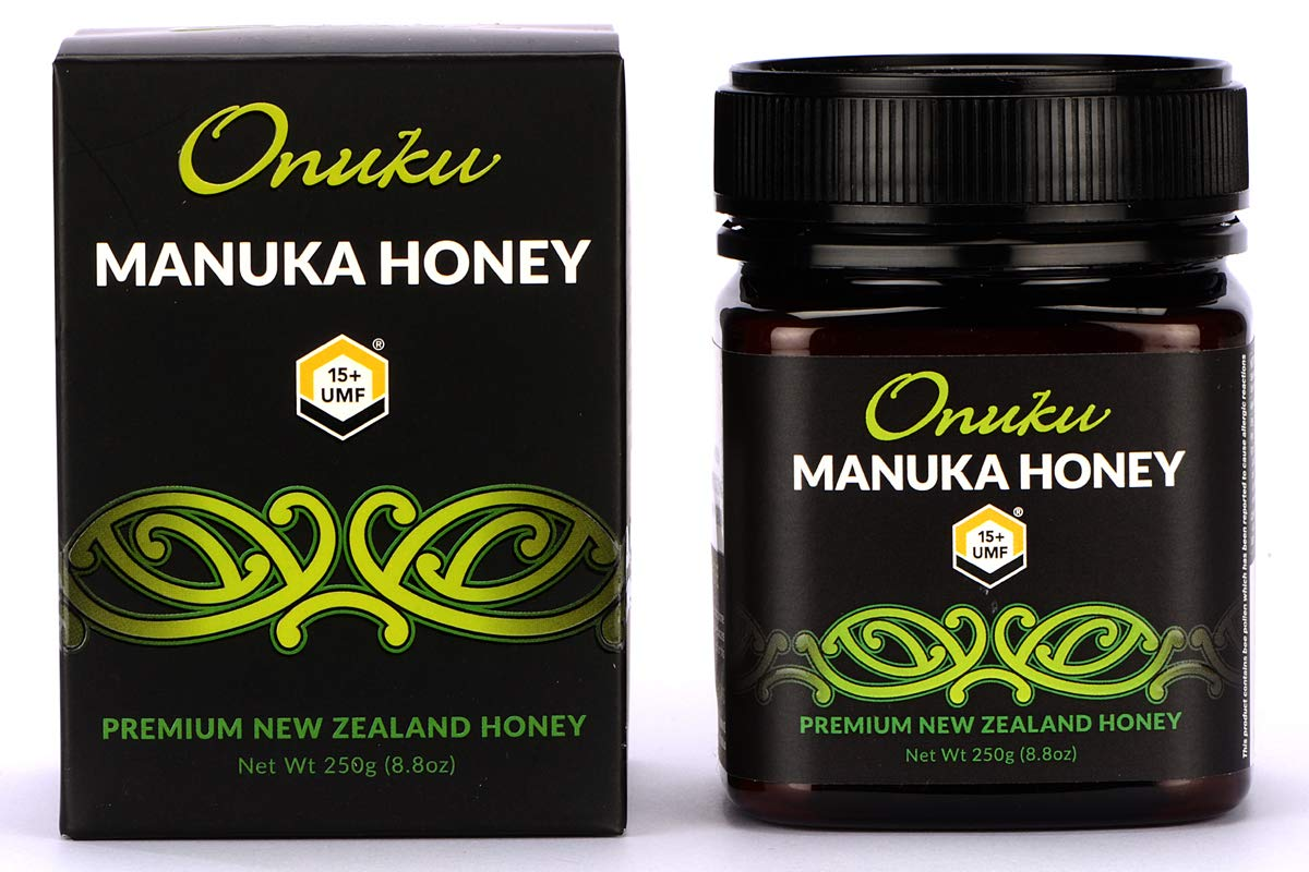 Onuku Manuka Honey Certified UMF 15+ (MGO 515+), New Zealand, 250g (8.8oz)