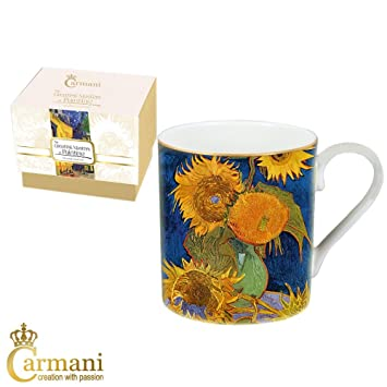 CARMANI   Klassiker Becher Mit 380 Ml Van Gogh Malerei Verziert