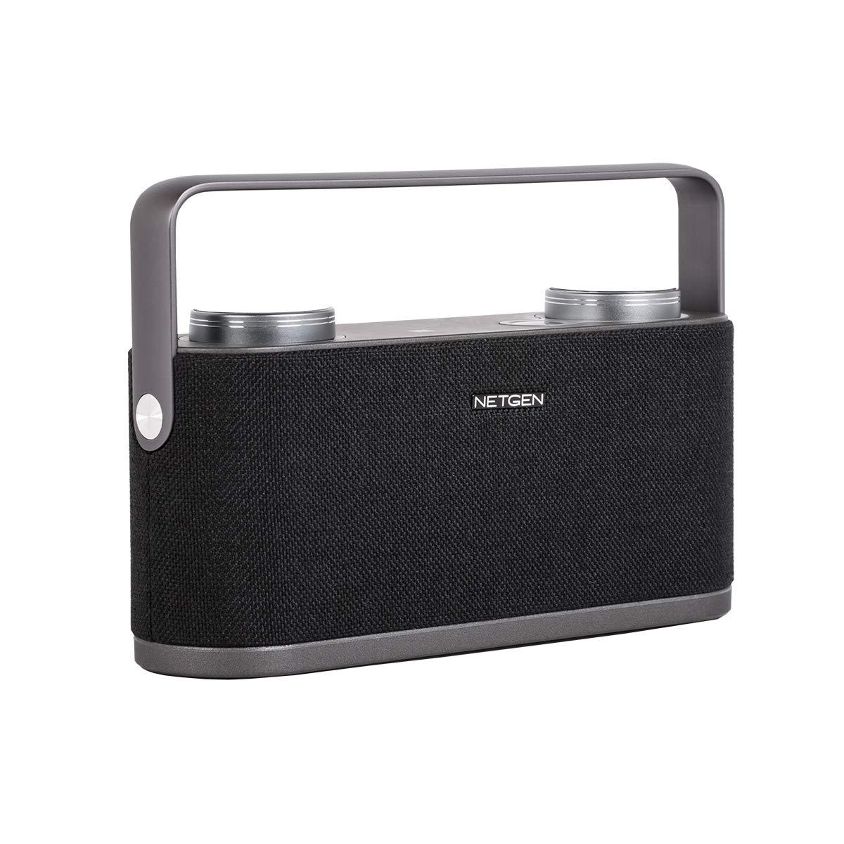 Netgen Bluetooth Speaker with Built-in Mic (Black)