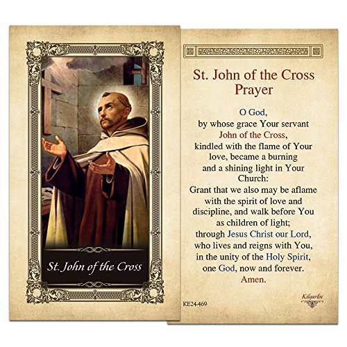 st-john-of-the-cross-laminated-holy-card
