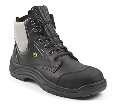 a246ea25093 Steitz Secura Extra Wide Fitting Steel Cap Boots 6E Fitting