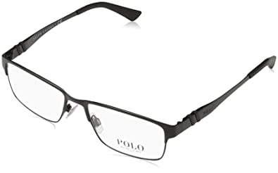 3a8bf6b35665 Image Unavailable. Image not available for. Color: Polo Men's PH1147  Eyeglasses Matte Black 54mm