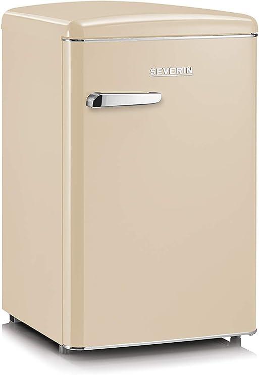 SEVERIN RKS 8833, Mini-Frigorífico Retro, 106 L, Crema: Amazon.es: Grandes electrodomésticos