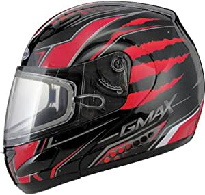 Clear//One Size GMAX Electric Lens with Cord Mens GM11 Dual Sport Helmet Accessories