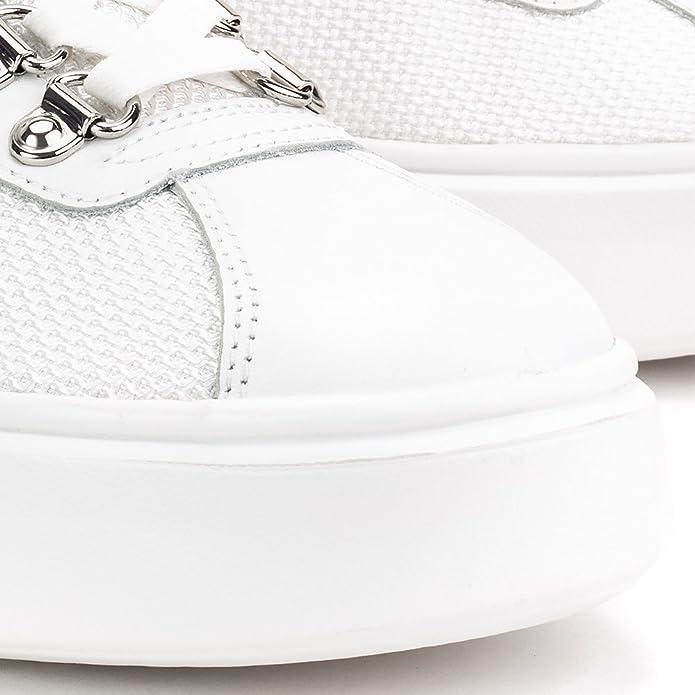 Geox nhenbus sneaker donna 41 white: : Schuhe