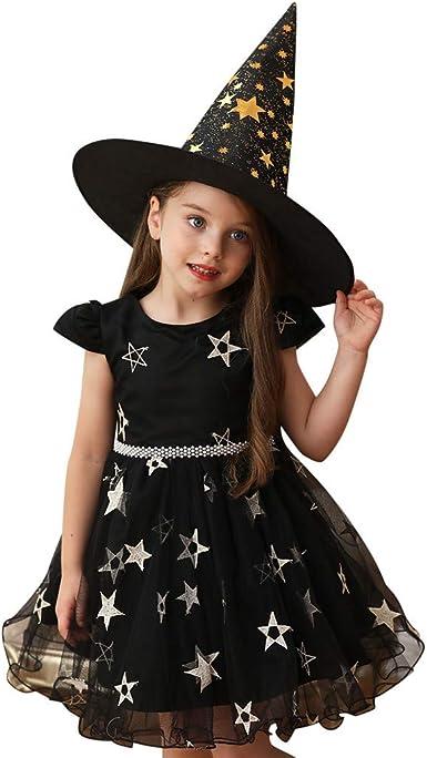 Fossen Kids Halloween Disfraz Vestido de Fiesta Chica Cosplay de ...