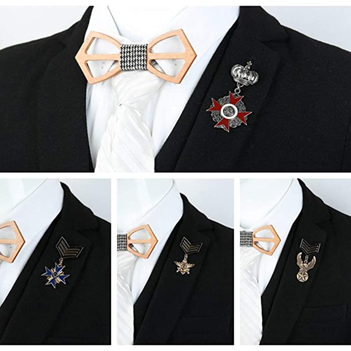 FENICAL Vestiti Fibbie Spilla Donne e Uomini Spille Corona Regina medaglia Distintivo Corsetti Hijab Pin Donne Cappelli Sciarpa Vestito Spilla