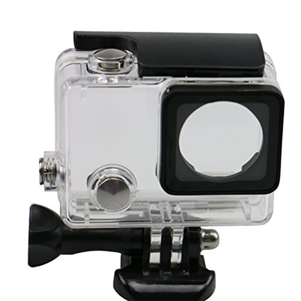 Waterproof Protective Housing Case for GoPro HERO4 Silver / GoPro HERO4 BLACK / GoPro Camera HERO3+
