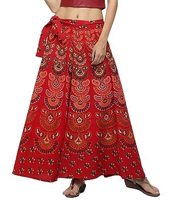 Falda Mujer Primavera Verano Fashion Impresión Etnica Estilo Falda ...