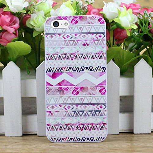 Coque Iphone 5 C, Koly New Aztec Andes Motif tribal Snap On Case Quatrième de couverture pour iPhone 5C