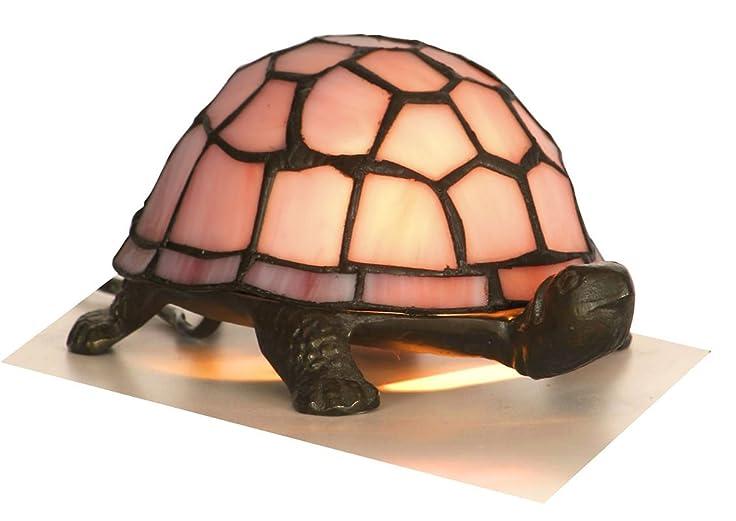 Pink Tiffany Tortoise Lamp: Amazon.co.uk: Lighting
