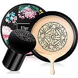 Ownest Mushroom Head Air Cushion BB Cream,Concealer Lasting Nude Makeup Moisturizing Brightening Pigment CC Liquid Foundation