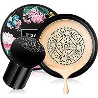 Ownest Mushroom Head Air Cushion BB Cream,Concealer Lasting Nude Makeup Moisturizing Brightening Pigment CC Liquid…