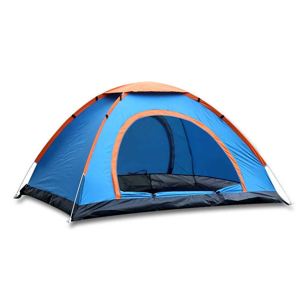RFVBNM Im Freien automatische Camping Zelt Doppel Doppeltür Portable Zelt 3-4 Geschwindigkeit offene Hand werfen Camping Zelt