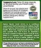 Dr Danielle Alpha Lipoic Acid RALA Extremely High Quality Alpha R Lipoic Acid R-ALAR- ALA 120 Capsules Discount