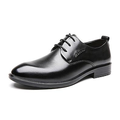 ADEFG Herren Schuhe Vintage Britischen Wachs Schnürsenkel Business Anzüge  Herrenschuhe Lederschuhe,Black-38 01bc0b70d6