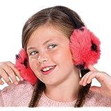 Mädchen Plüsch Fluffy Faux Fur Ohrenschützer - 4 Farben zur Auswahl