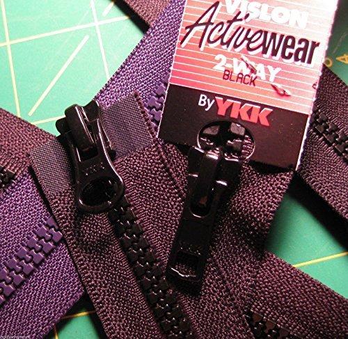 Clark Molded Separating Zipper (Sport Parka Dual Separating Zipper 30