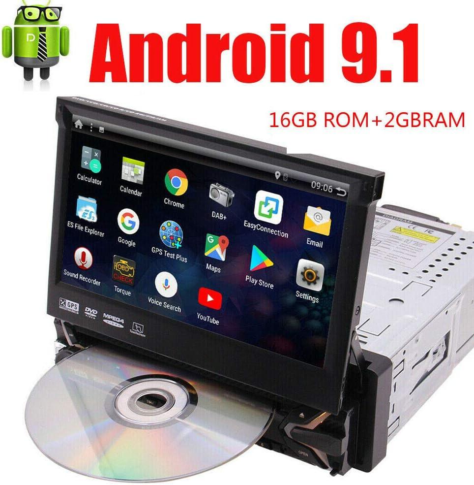 Android Autoradio mit Bildschirm DAB Bluetooth Navigation Navi 2 Doppel DIN MP3