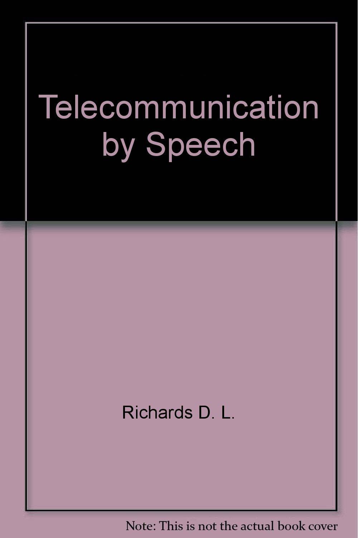 Telecommunication by speech