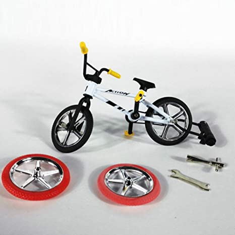 Dedo Bicicleta, Mini Aleación Bicicleta Juguete Bicicleta de Montaña Modelo Niños Dedo Bicicleta Moto Fanáticos Juguetes Regalo para Chico Chica Infantil: Amazon.es: Deportes y aire libre