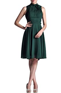 e011907c6a22 Night Out & Cocktail Chiffon Natrual Knee Short Formal Dresses for Women  Evening