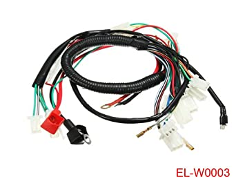 Amazon.com: Electric Engine Start Wiring Loom Harness for ... on