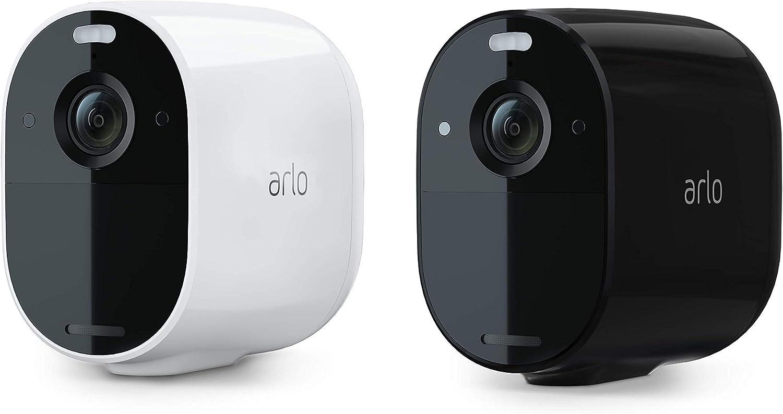 Arlo Essential, 100% sans fils, video 1080p, vision nocturne couleur, Audio bidirectionnel,...