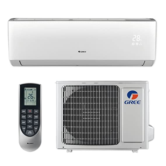 Amazon.com: Gree LIVS12HP115V1B   12,000 BTU 16 SEER LIVO+ Wall Mount  Ductless Mini Split Air Conditioner Heat Pump 115V: Home U0026 Kitchen