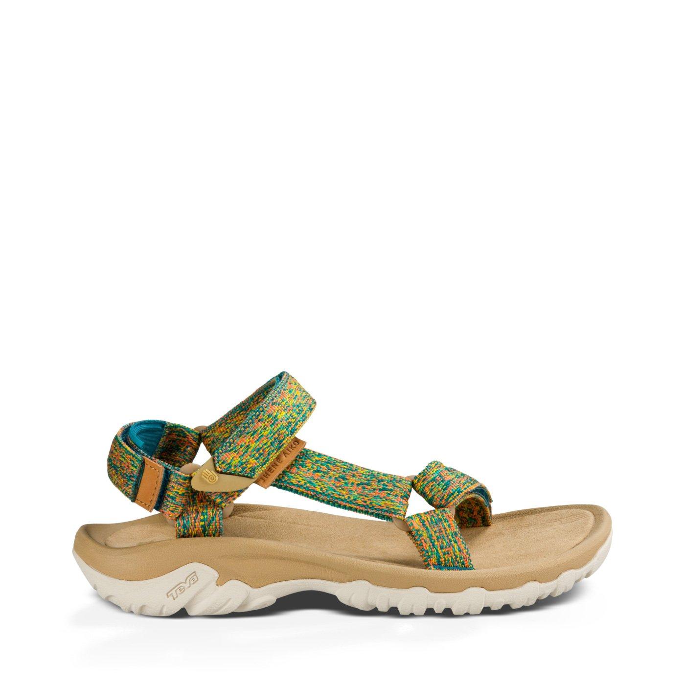 Teva Womens Hurricane XLT Jhene Aiko Sandal Shoes, Space Dye with Teal, US 5 B01N6ZMSYN Parent