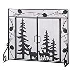 VERDUGO GIFT CO Woodland Wonder Fireplace Screen by VERDUGO GIFT CO