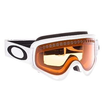 oakley womens ski goggles 42ct  Oakley Unisex-Adult O Frame Snow GogglesMatte White,Persimmon