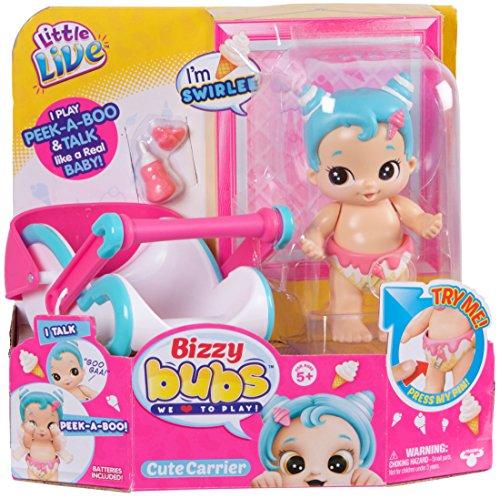 Bizzy Bugs - Little Live Bizzy Bubs Peek-A-Boo Baby Swirlee