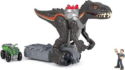 Gift idea Limited TIME ONLY Jurassic World Imaginext Walking Indoraptor