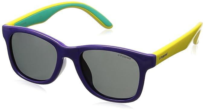 Polaroid - Gafas de sol Rectangulares PLD 8001/S para niños