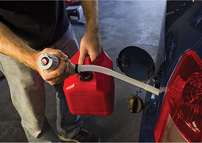 Elektrische Siphonpumpe Tauchpumpe f/ür Fl/üssigkeiten Batteriebetrieben 8l//Min Pumpleistung Benzinpumpe Benzin Pumpe Elektrische Benzinpumpe Hand Wasserpumpe Batteriepumpe Kanisterpumpe Umf/üllpumpe