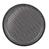 "uxcell® 10"" Dia Metal Mesh Car Woofer Protective Cover Speaker Grill Black"
