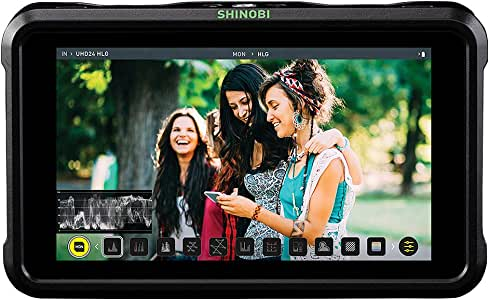 Amazon.com: Atomos Shinobi - Monitor HDMI 4K (5 pulgadas ...